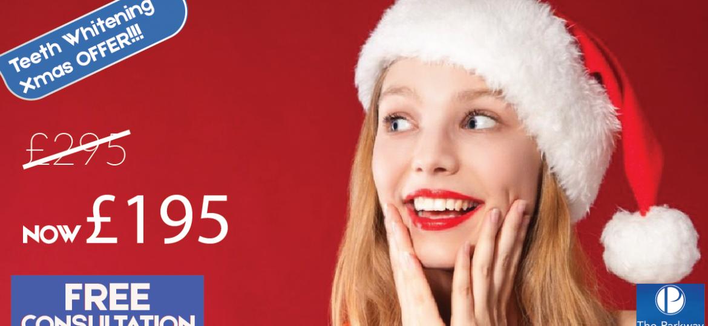 Teeth Whitening Xmas Offer Money off