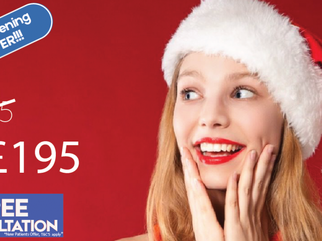 Teeth Whitening Xmas Offer Money off